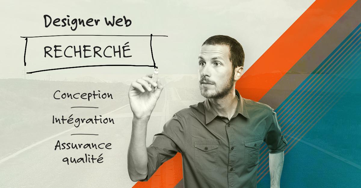 Designer Web recherché
